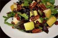 low carb autumn harvest salad