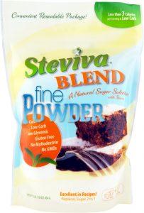 Steviva Blend FINE POWDER Sweetener - 1 lb. Bag