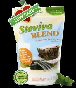 Steviva Blend stevia sweetener - 1 lb. Bag