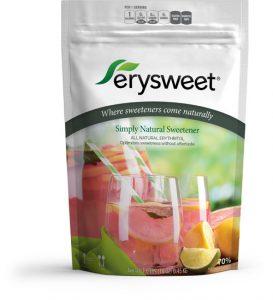 Erysweet erythritol sweetener - 1 lb Bag