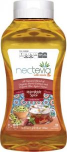 Marrakesh Spice Nectevia Stevia Fortified Agave Nectar 16.9oz Squeeze Bottle