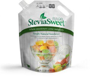 SteviaSweet RA98 - Rebaudioside A 98% pure stevia extract powder - 1 KG Bulk Bag