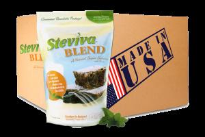 Steviva Blend stevia sweetener - Case lot 12- 1 lb bags