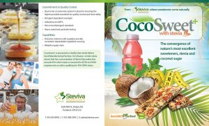 CocoSweet+ Plus - Coconut Palm Sugar and Stevia Sweetener 1 Lb Bag