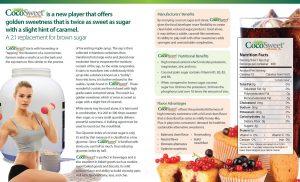 CocoSweet+ Plus - Coconut Palm Sugar and Stevia Sweetener 1 Lb Bag