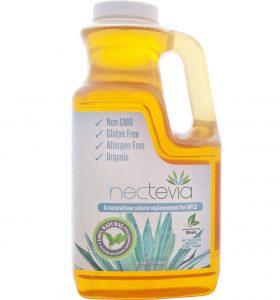 Nectevia - Stevia Fortified Agave Nectar - 64 Ounce Bottle