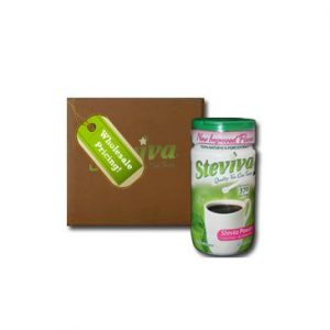 Steviva stevia extract powder - case lot 12- 1.3 OZ WT. - 8 OZ Bottles